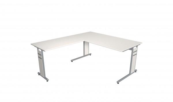 Form 4C 160x180 in weiß
