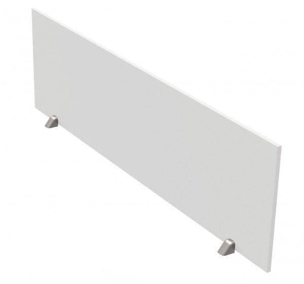 weiße Tischtrennwand