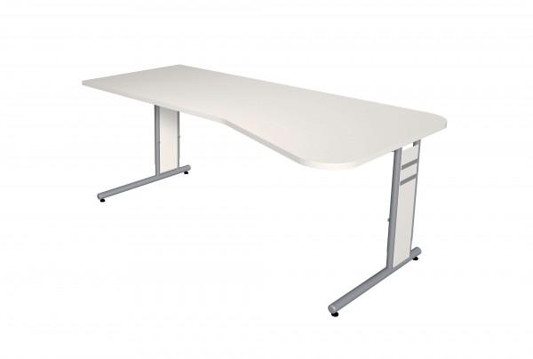 Form 4C 195x80/100 in weiß