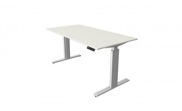 Elektrisch höhenverstellbaren Schreibtisch Kerkmann Move 3, 160 x 80, weiß